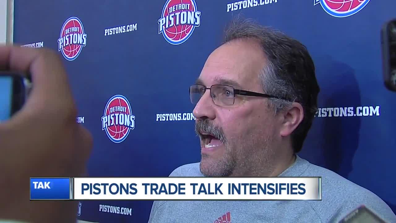 Stan Van Gundy, Andre Drummond address trade rumors