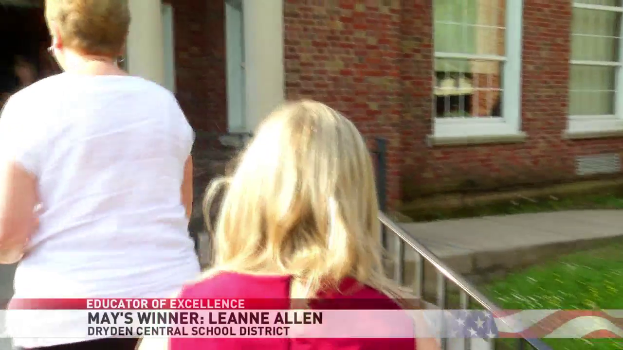 CBS5 May Educator of Excellence Award: Freeville's Leanne Allen