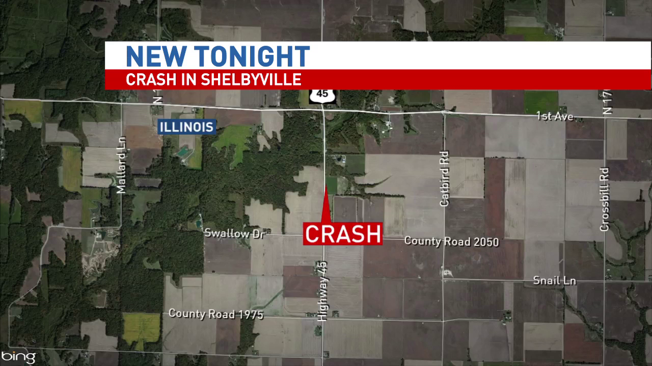 One person injured in Shelbyville crash