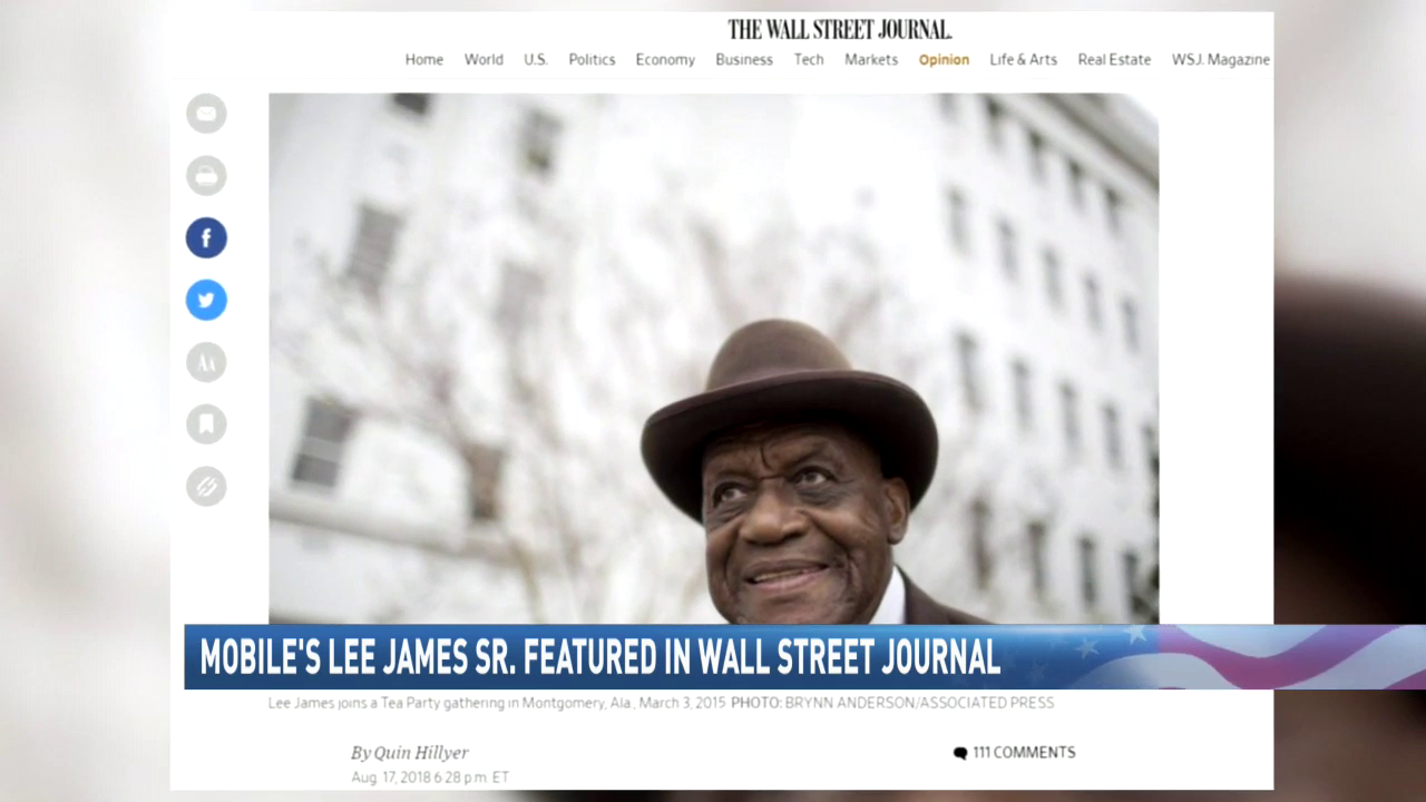 Mobile native makes impact on community, featured in Wall Street Journal