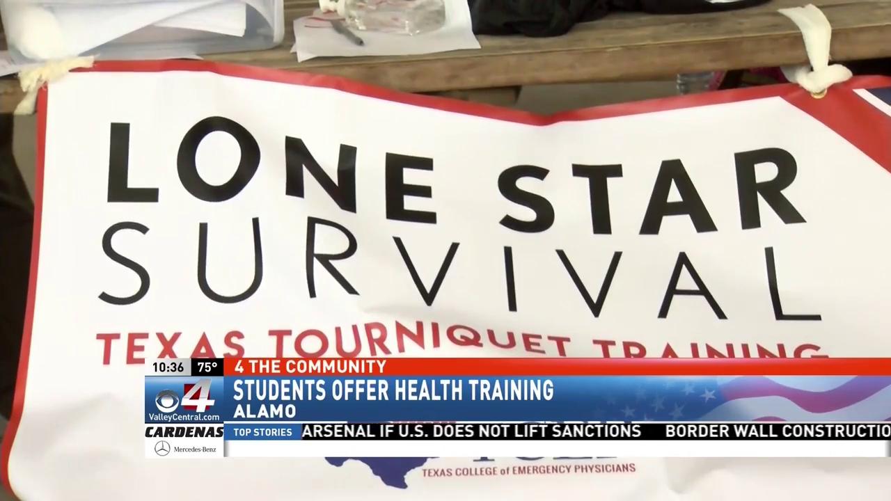 Texas based volunteer organization trains community on life saving skill.