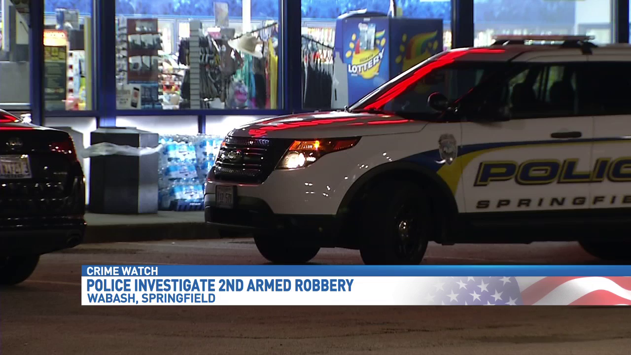 Marathon gas station armed robbery suspect at large