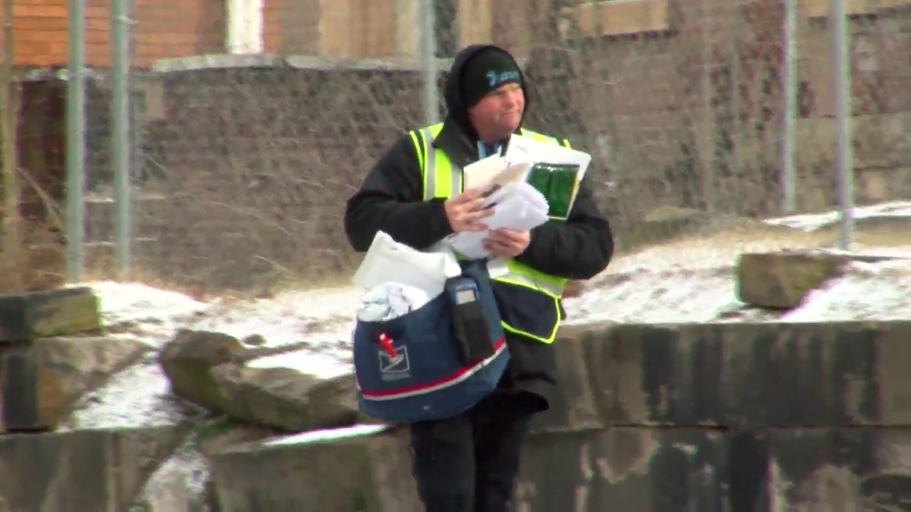 Cold weather forces cancellation of mail delivery in parts of the country