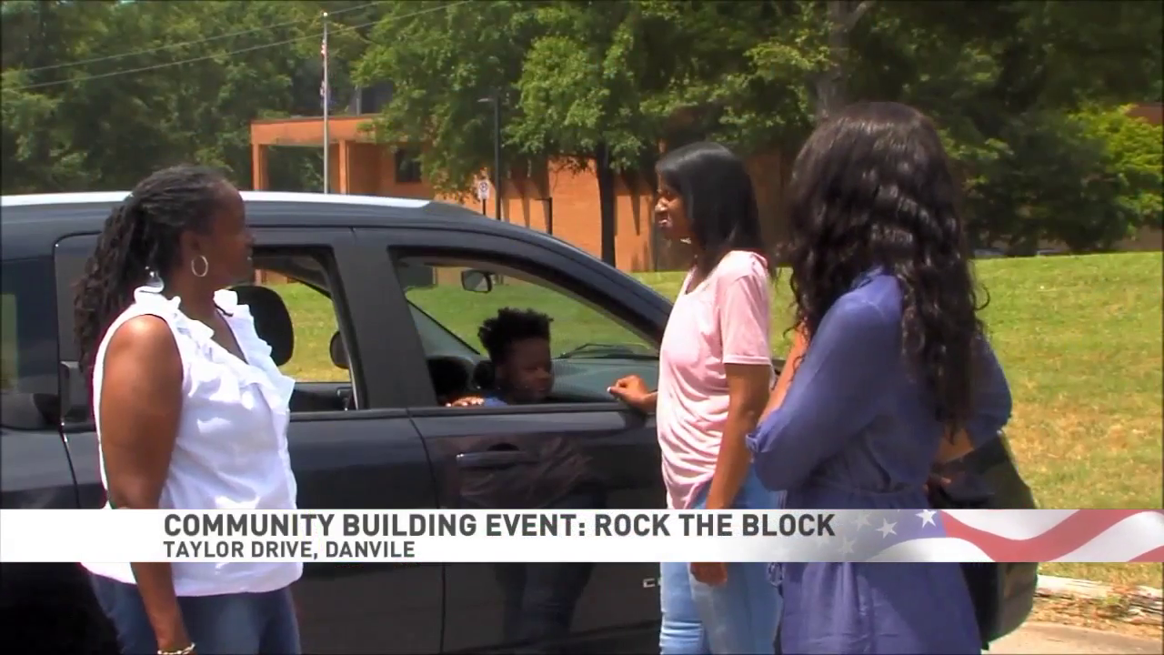 Rock the Block party being held in Danville this weekend to bring community together