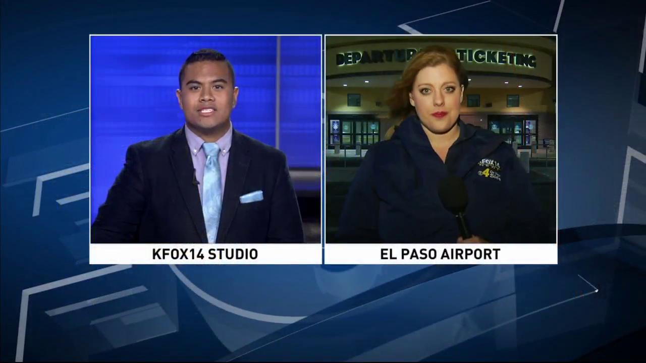 Flight makes emergency landing in El Paso due to weather damage