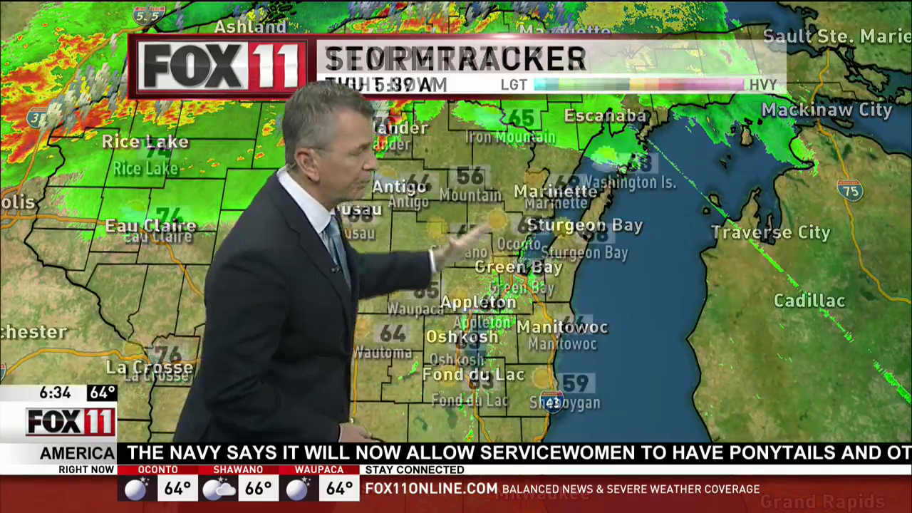 Storm Watch: Scattered showers and storms, some could be strong