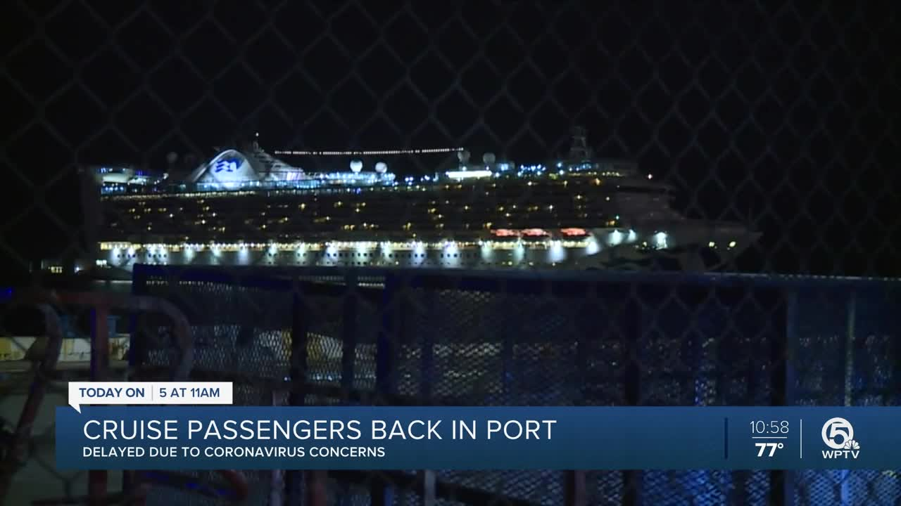 Canadian Grand Princess cruise ship passengers arrive for quarantine at CFB Trenton