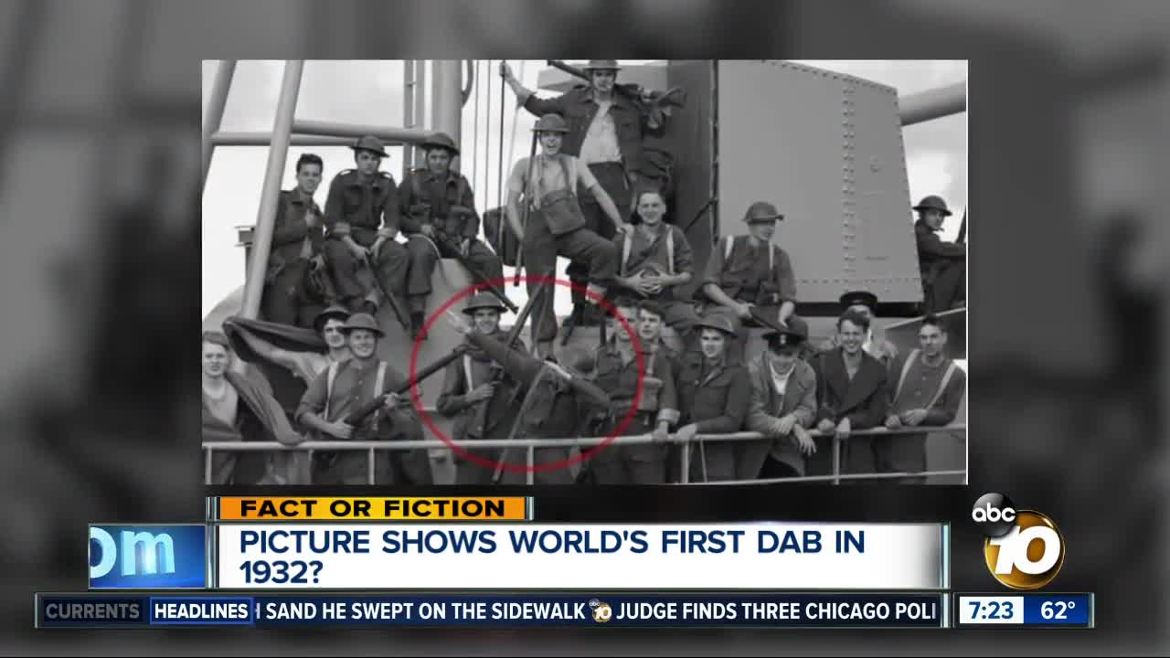 Fact or Fiction: Photo shows 1932 dab?