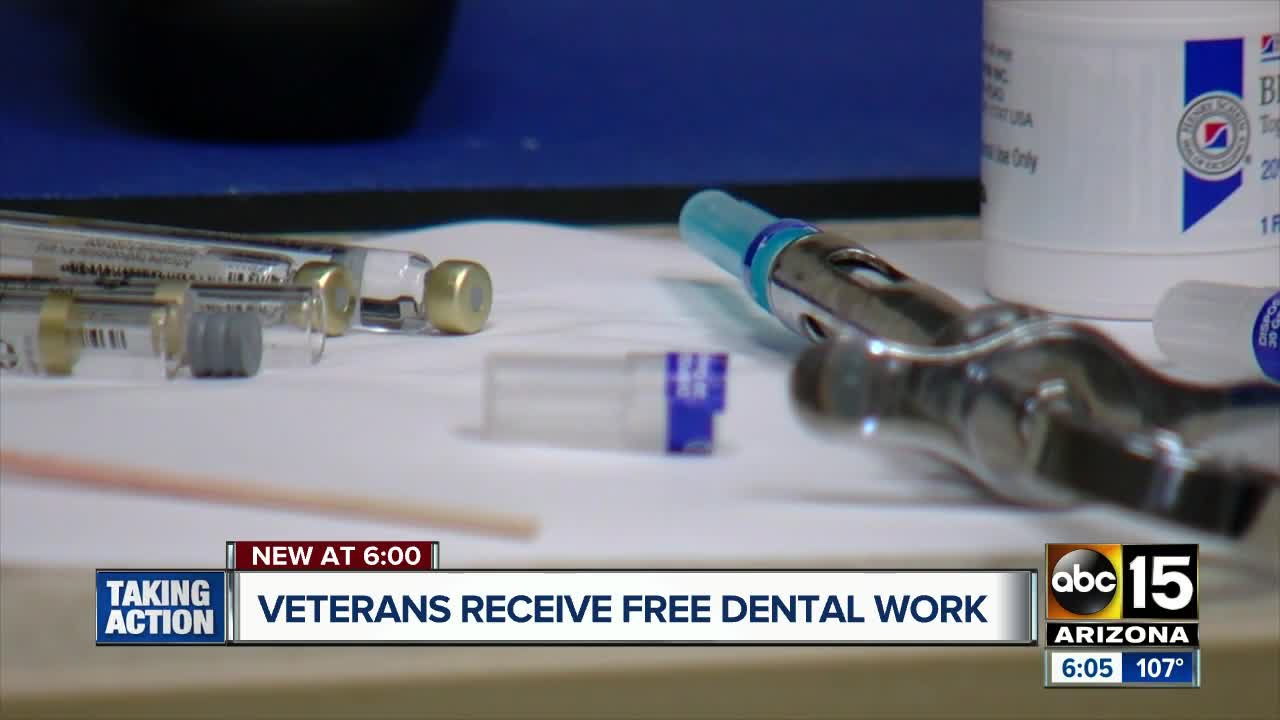 Arizona veterans receive free dental care during 'Day of