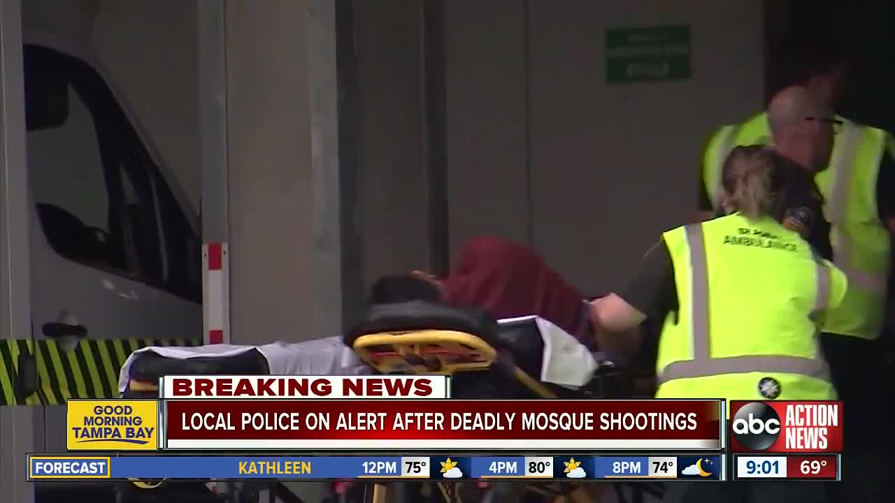 Mass shooting at mosque in Christchurch