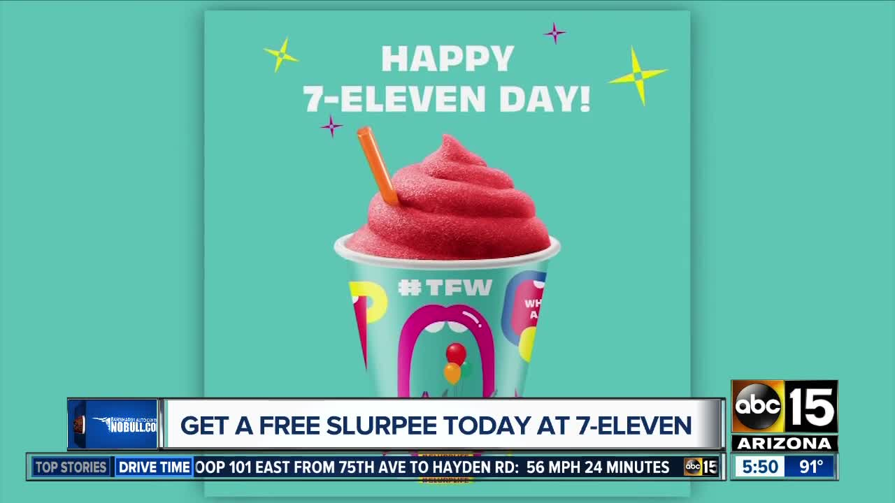 7-Eleven Day means FREE Slurpees, $1 treats and more!