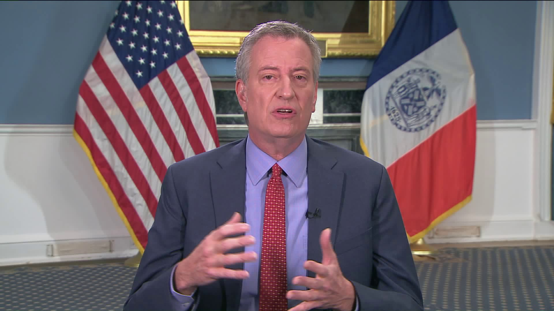 De Blasio Predicts NYC Public Schools Won't Reopen This School Year