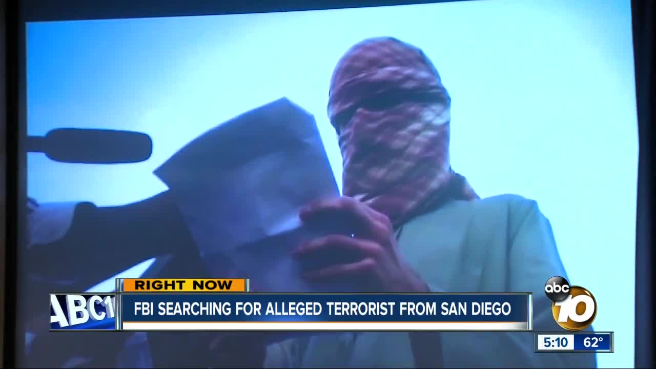 $5 million reward offered for San Diego man linked to al-Shabab