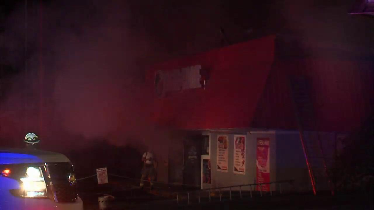 Fire on Hall St. Damages Business