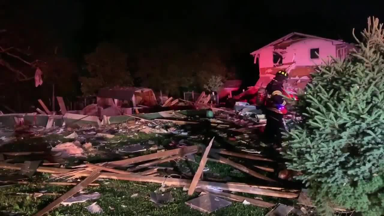 One person killed, several homes impacted by IN house explosion