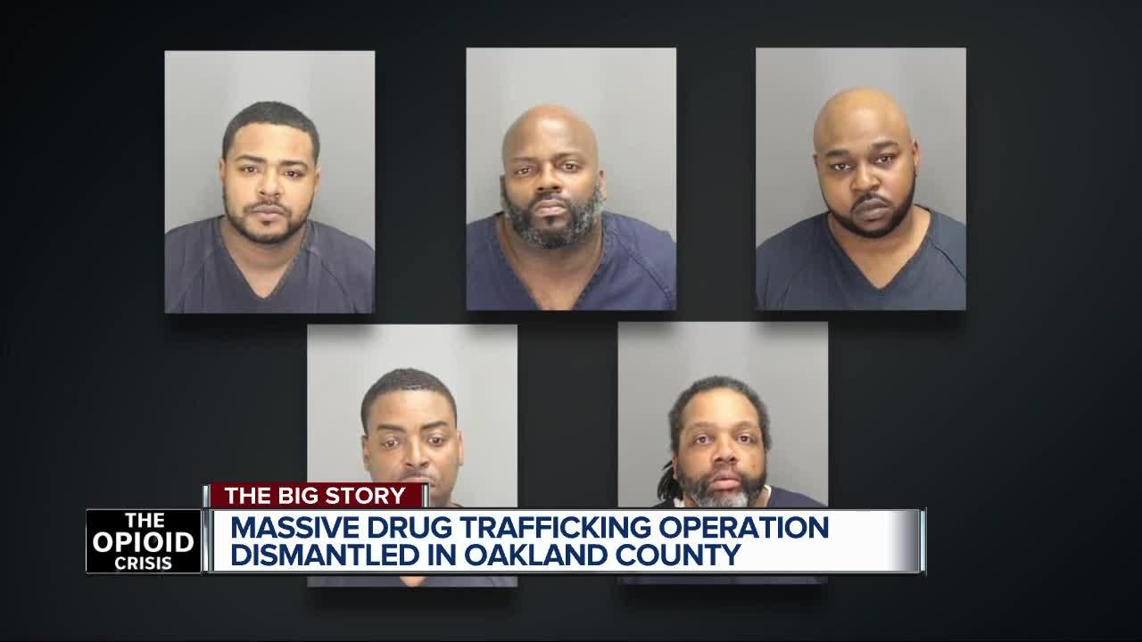 5 men arrested for operating drug trafficking organization in