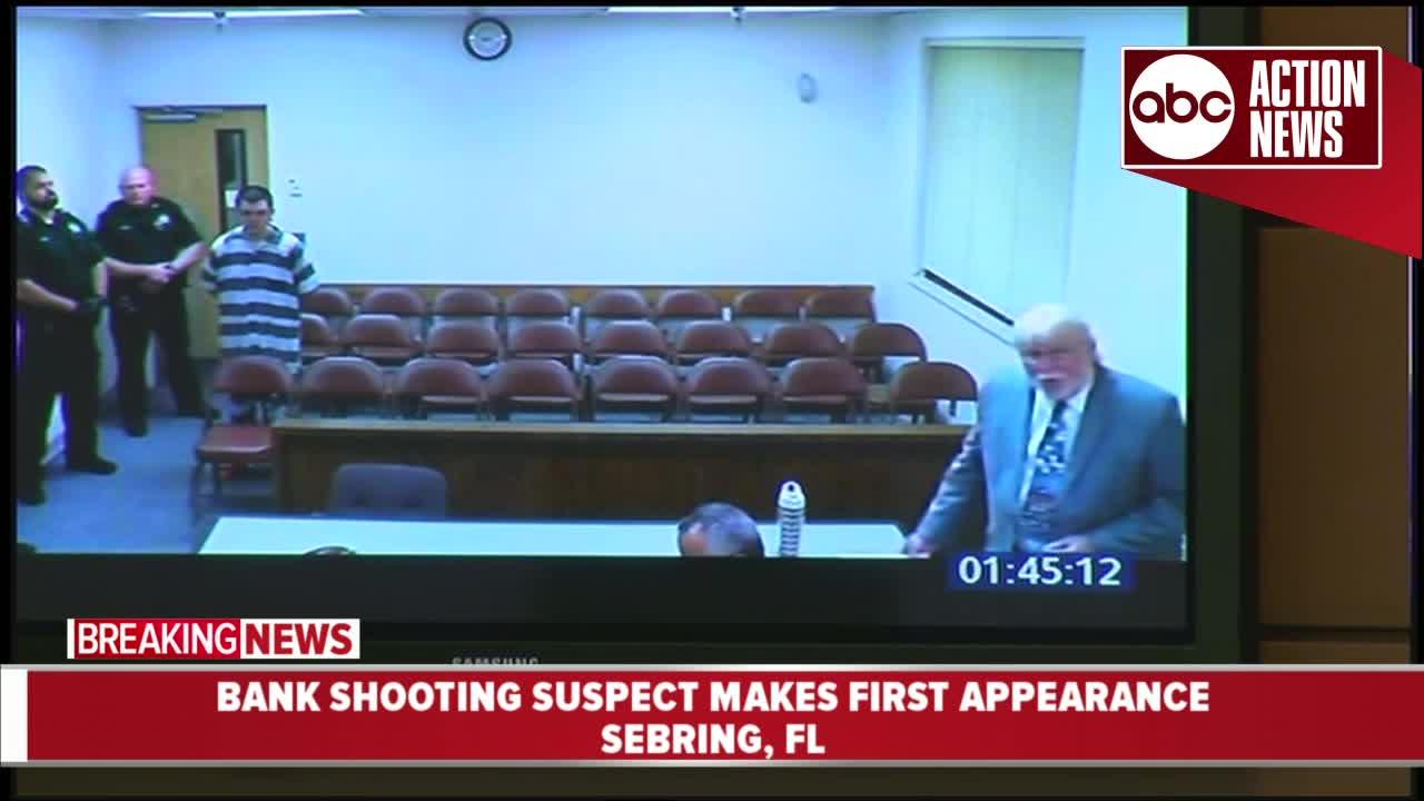 Zephen Xaver: Suspected Sebring bank shooter enlisted in