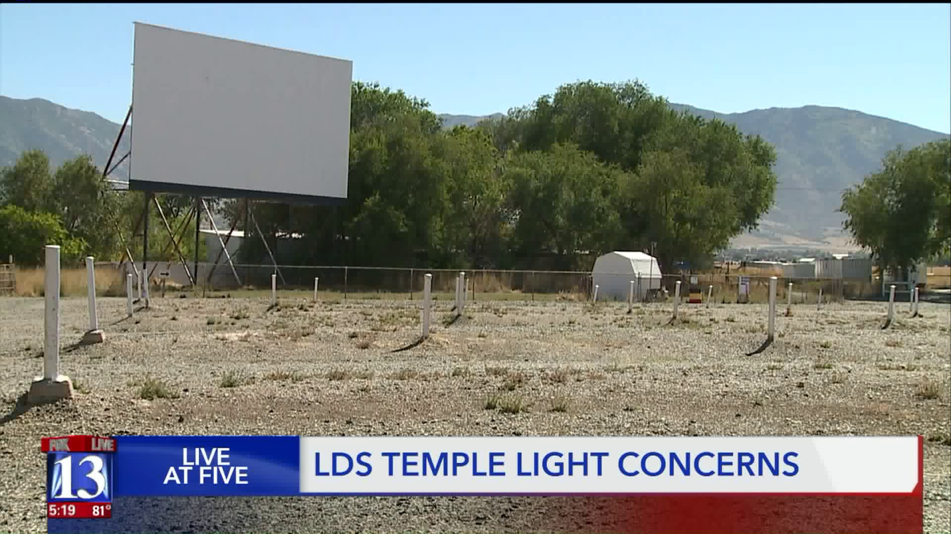 Latter Day Saint Temple May Hurt Tooele Drive In Theater Experience Manager Says