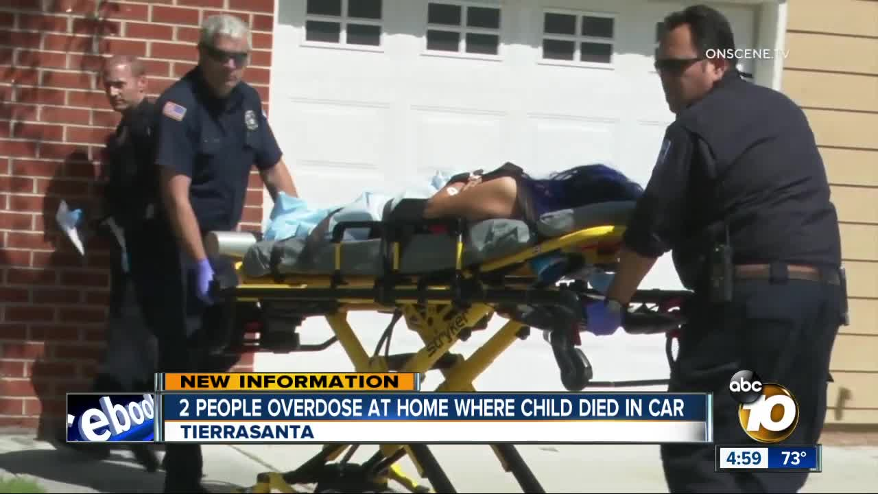 2 people overdose at Tierrasanta home where child was found