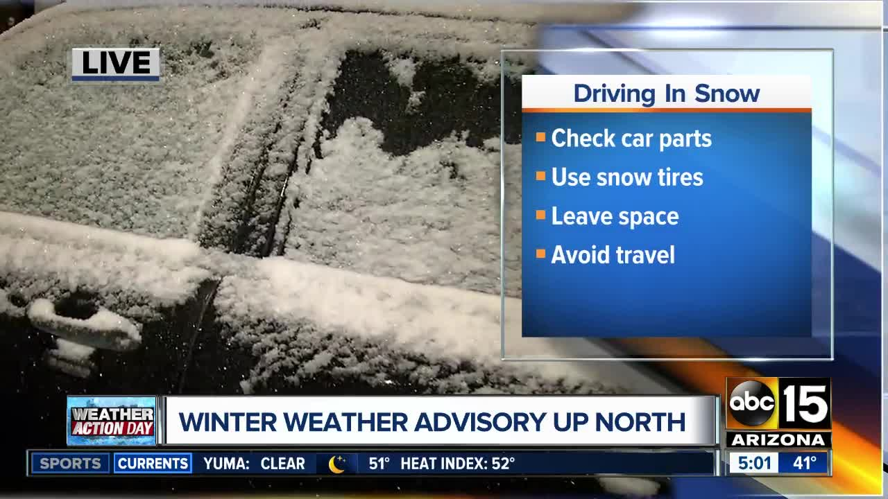 Bundle Up And Be Prepared For Winter Weather When You Head Up To The High Country This Weekend