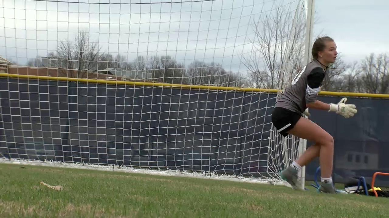 Good Counsel goalkeeper leads school to it's 12th WCAC title