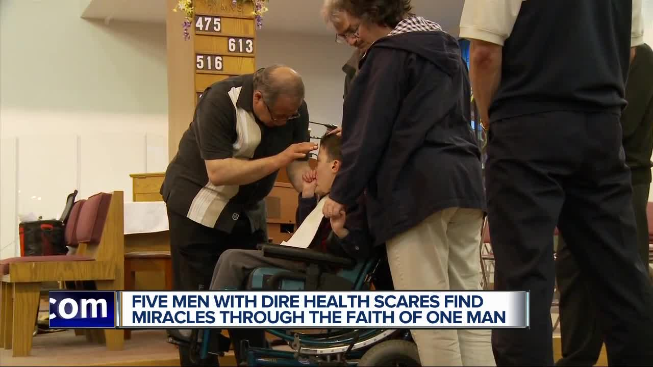 5 guys and a faith healer: After dismal diagnoses, they believe in