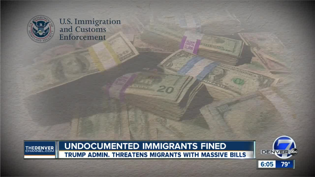 ICE threatens 2 Denver-area immigrants with thousands in