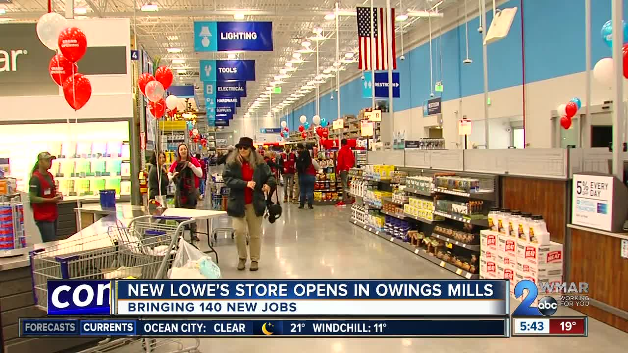 Lowe U0026 39 S Opens New Store In Owings Mills