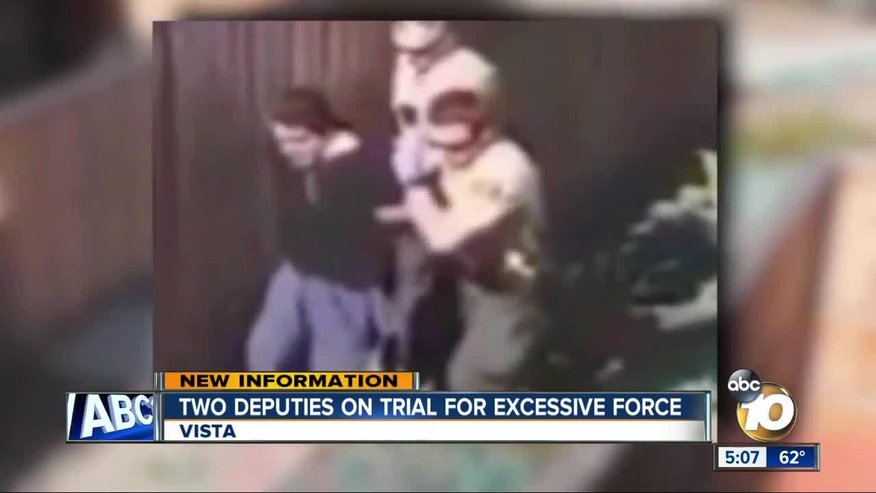 Trial begins for San Diego deputies accused of violent arrest