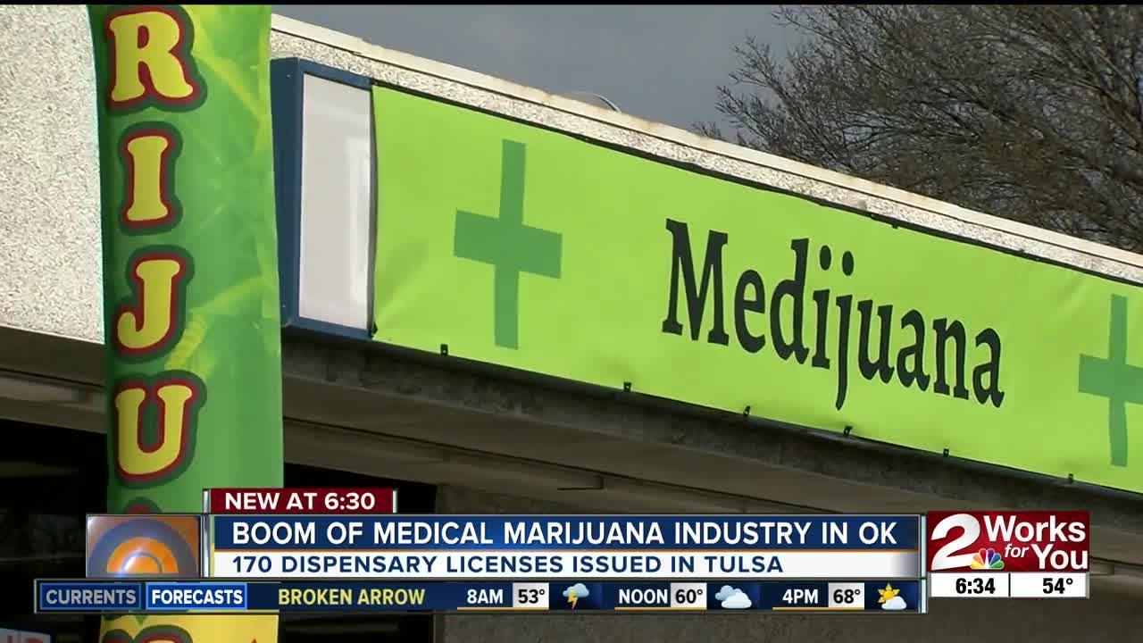 More than 170 medical marijuana dispensaries have been