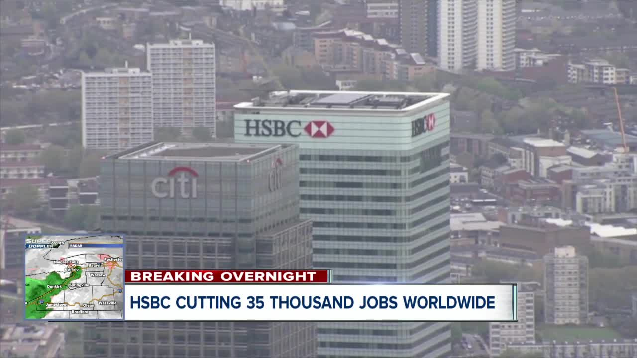 HSBC unveils an overhaul of its global business as profits drop 33%