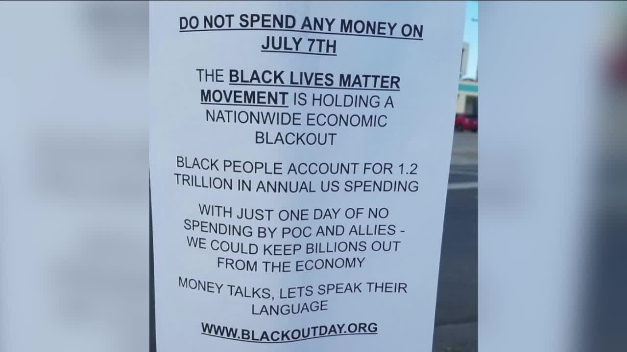 Blackout Day draws attention to Black spending power
