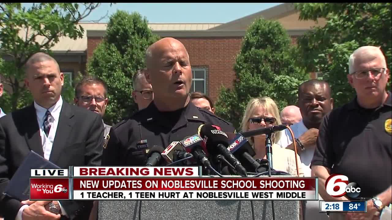 FBI, ATF search home of Noblesville school shooting suspect