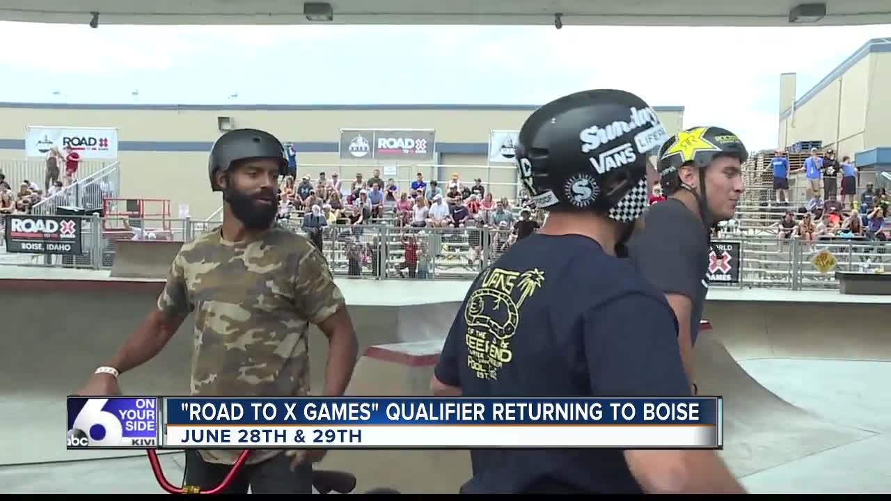 Road to X Games qualifier bringing top skateboard and BMX athletes