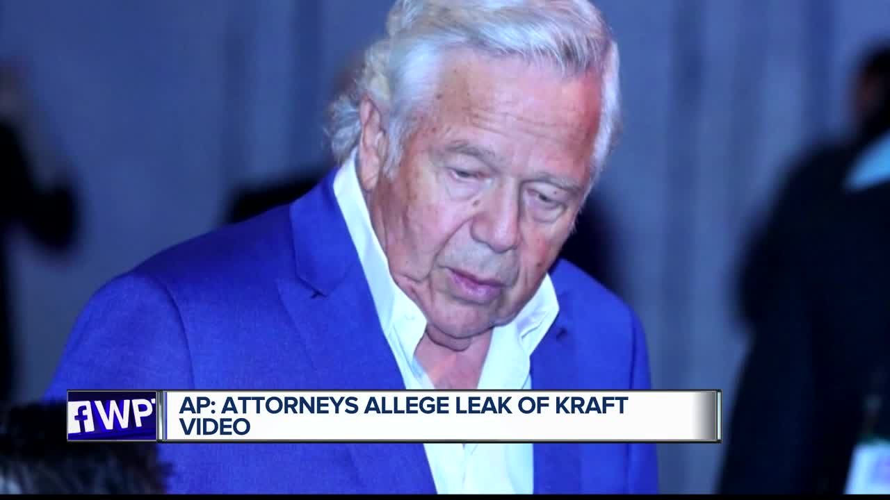 Robert Kraft spa video leaked and up for sale, attorneys allege