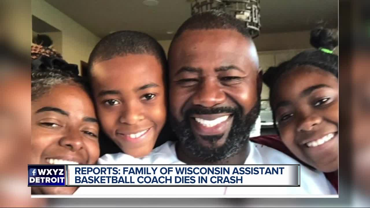 Wisconsin basketball assistant coach injured in crash, wife & daughter killed, per reports