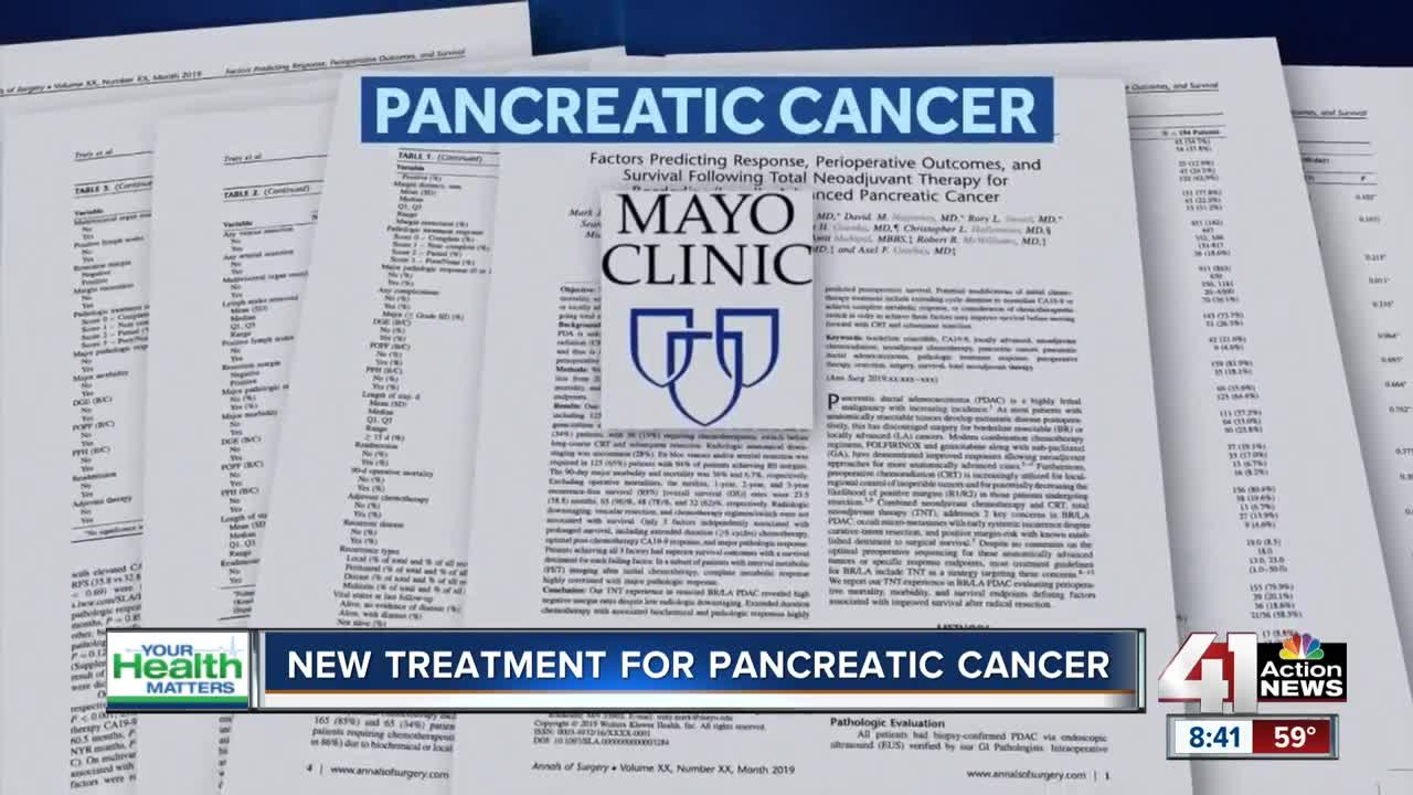 Breakthrough in pancreatic cancer treatment
