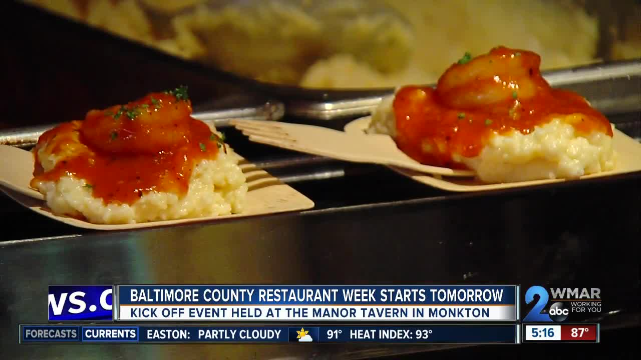 Baltimore County Restaurant Week Begins On Friday