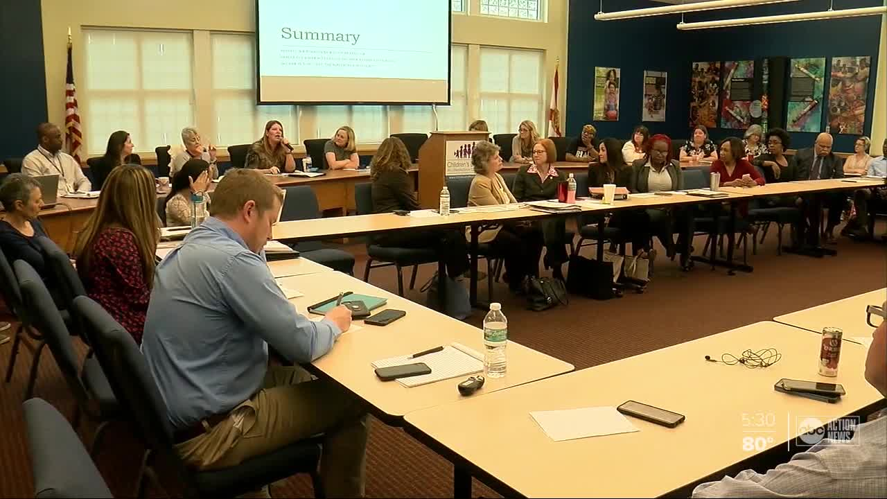 new report says foster care system is failing hillsborough county teens
