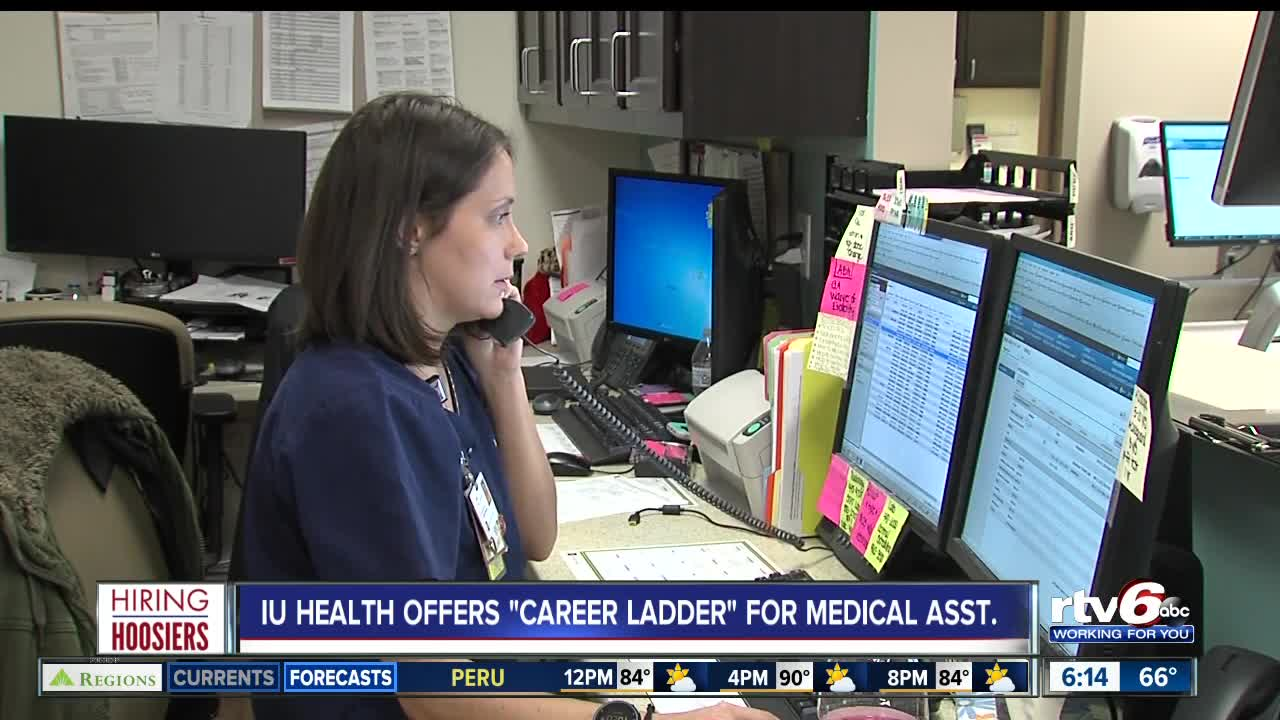 IU Health offers career ladder for medical assistant job growth