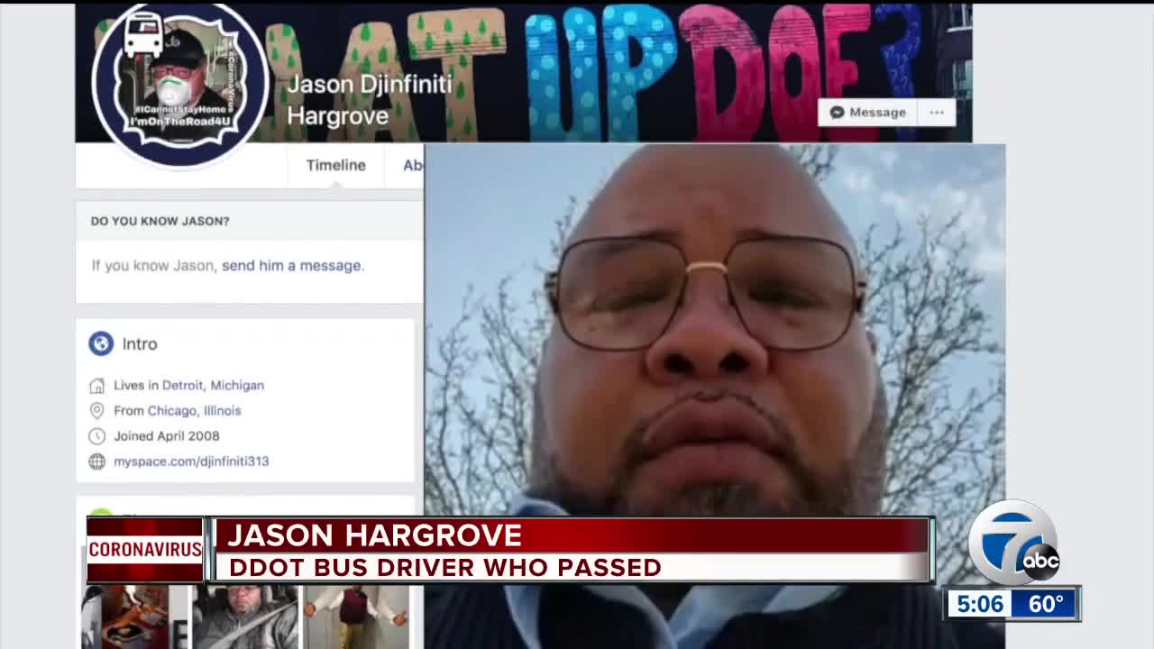 Bus driver who posted video about coughing rider dies after contracting coronavirus