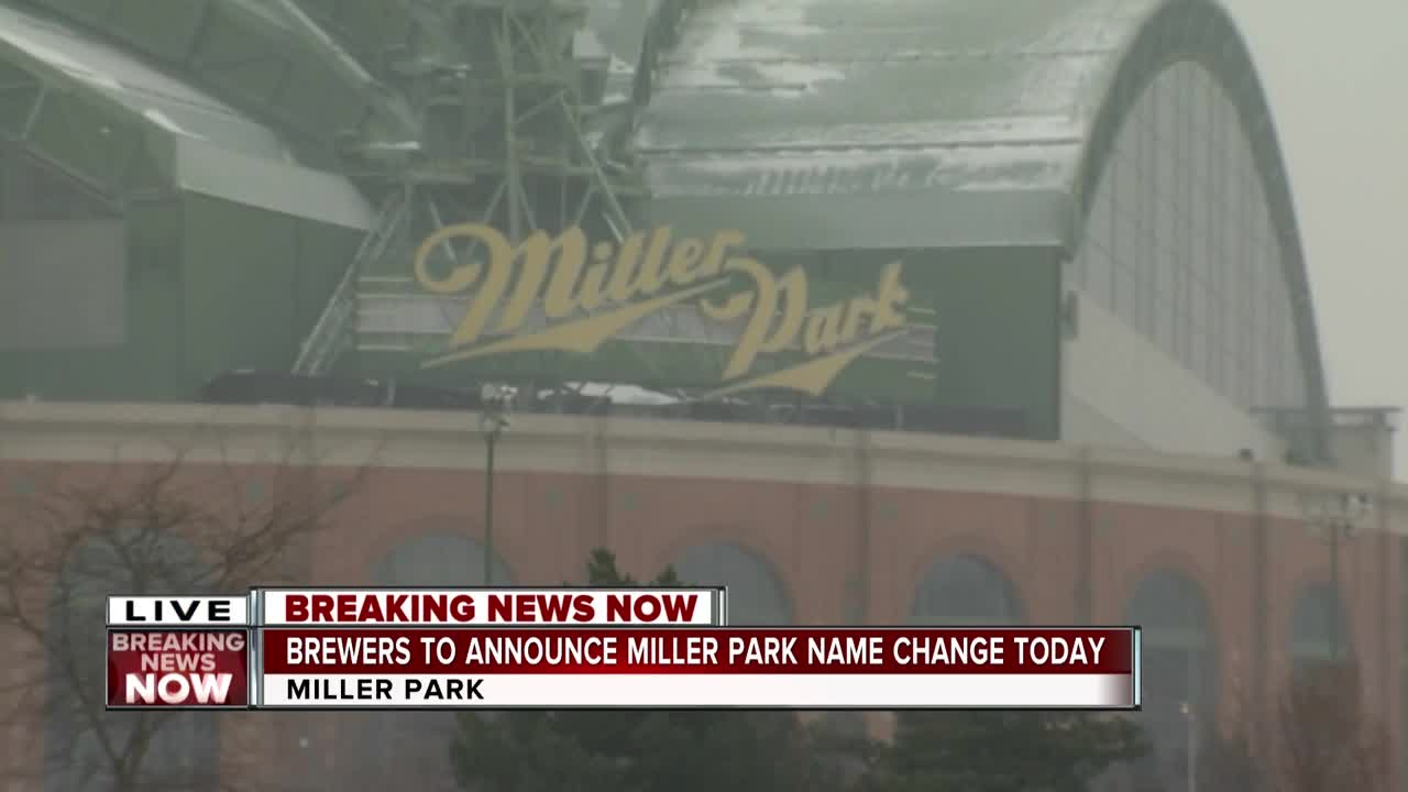 Miller Park Won't Be Called Miller Park In 2021