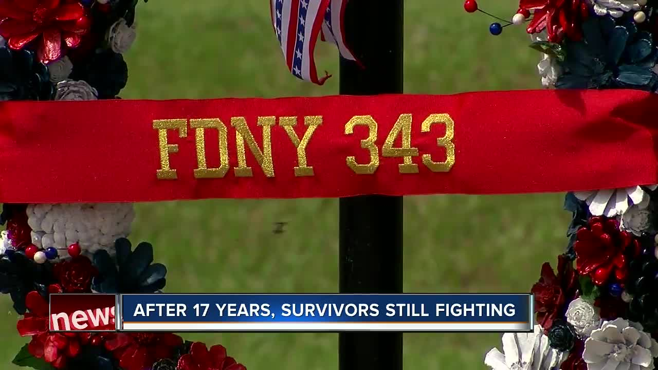 9/11 FDNY dispatcher still coping with pain after 17 years