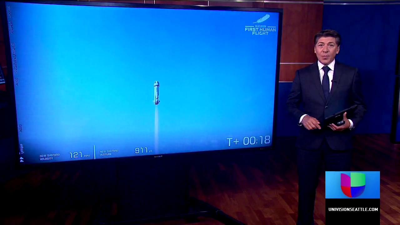 Blue Origin envía a 4 personas al espacio exterior