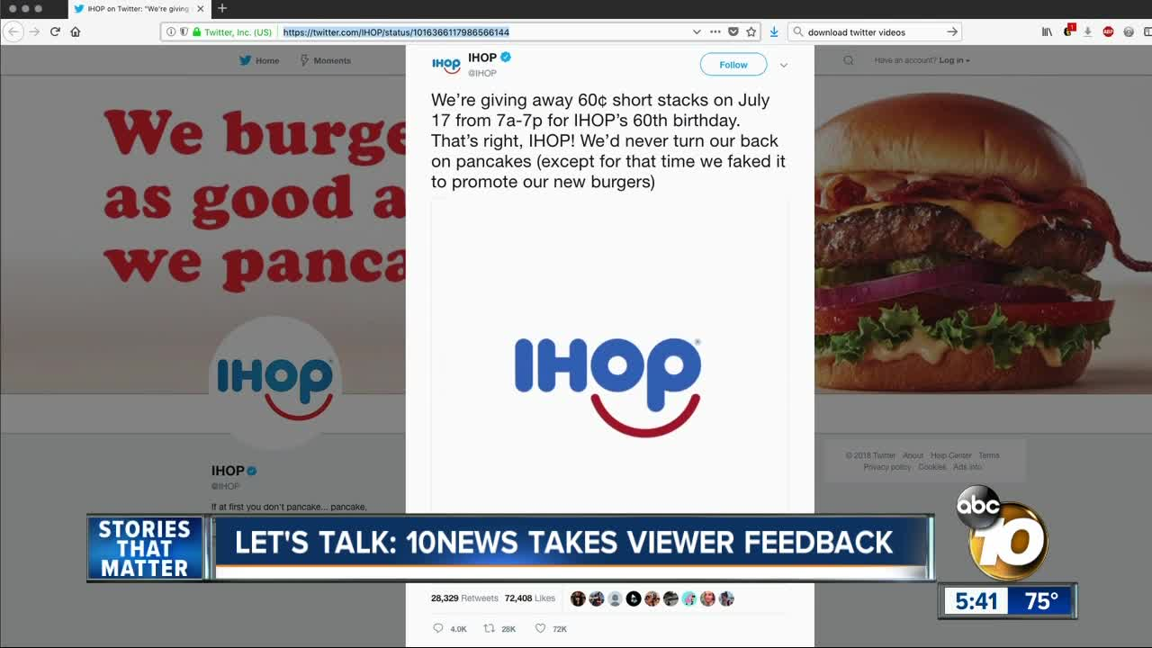 Let\'s Talk: Too Many Fast Food Stories! - 10News.com KGTV-TV San Diego