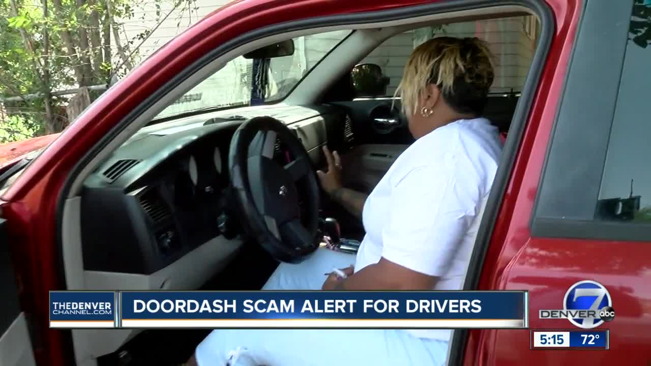 Denver-area DoorDash drivers warn about scam asking dashers
