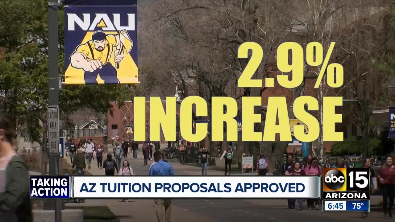 Arizona tuition increases: Fall 2019 tuition hikes approved
