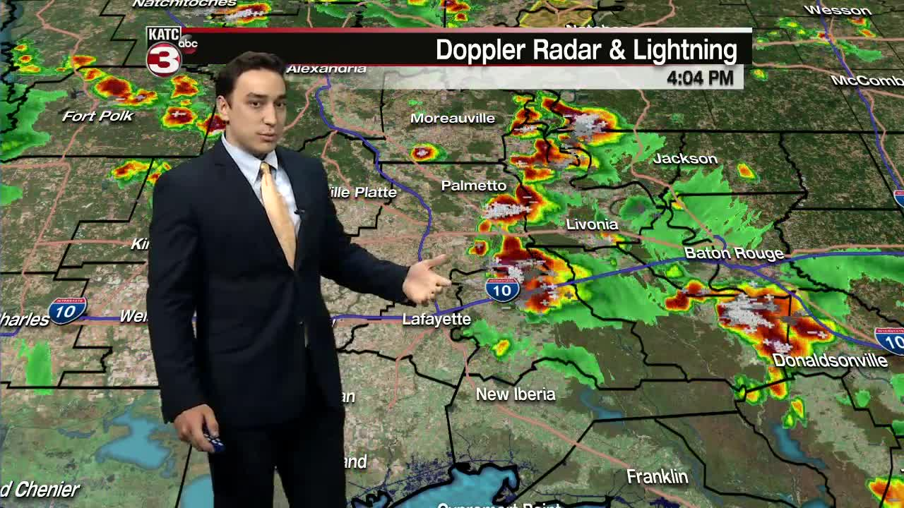 First Alert Weather - Heavy rain possible Sunday night - Monday