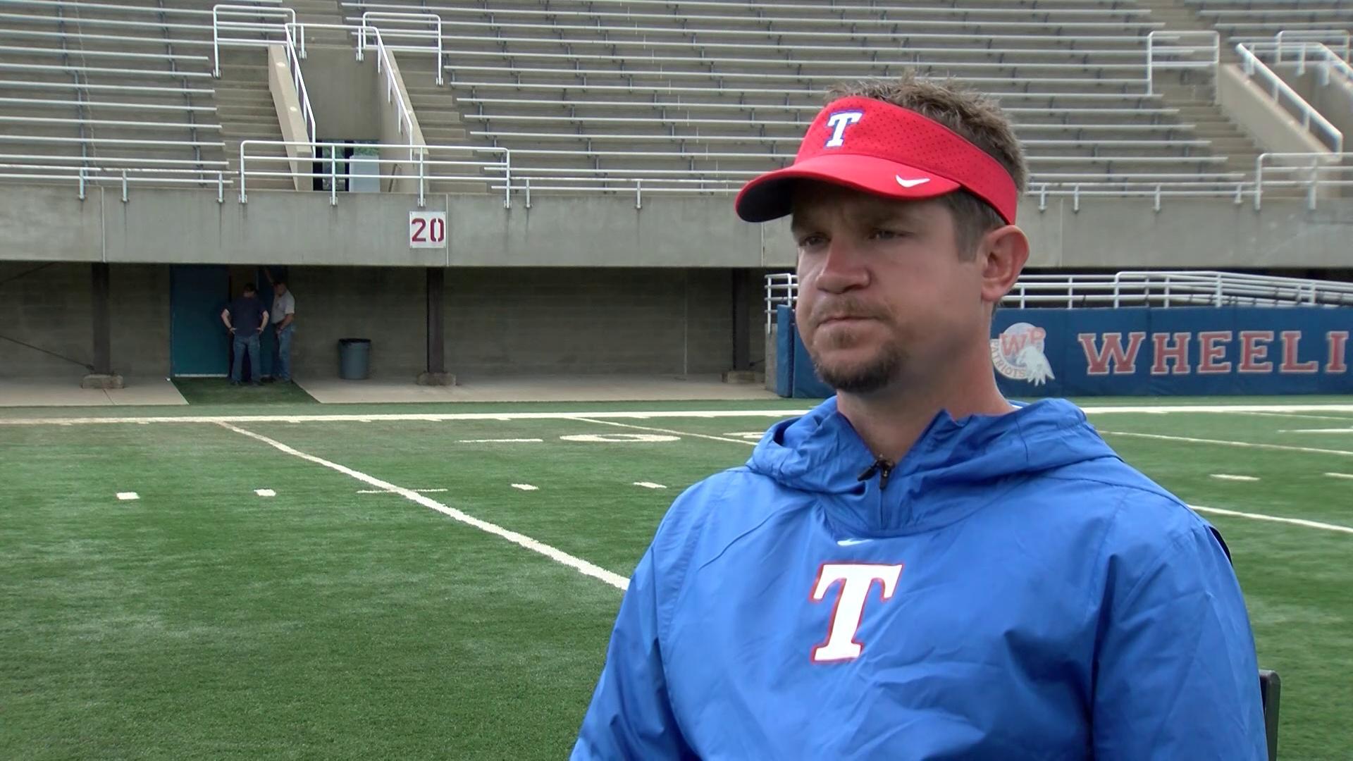 Coach Josh Franke