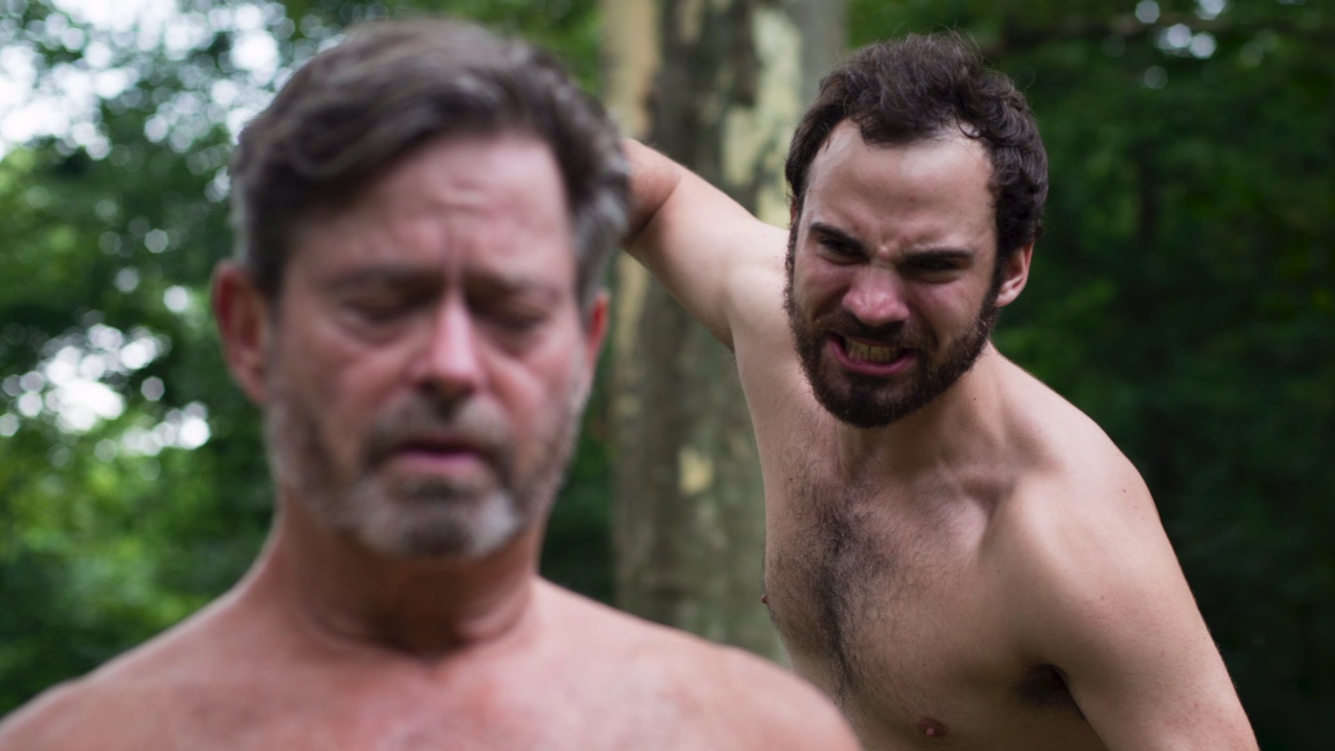 Andy Adler Nude all-male nude production of hamlet in prospect park aims to